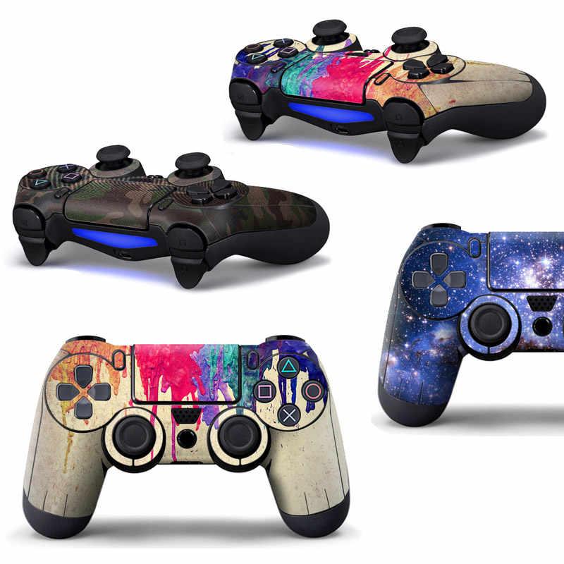 Наклейки для игровой станции 4 консоль игровая кожа тонкий для PS4 контроллер наклейки крышка джойстик для sony PS4 крышка аксессуары