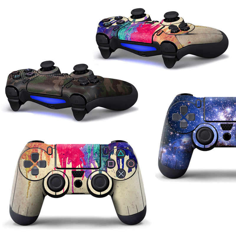 Stickers Voor Play Station 4 Gamepad Console Skin Slim Voor PS4 Controller Stickers Cover Joystick Voor Sony PS4 Cover Accessoires