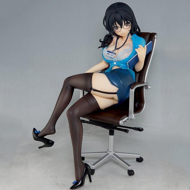 Daiki Kogyo Kougyo Hishoka Hatsumi Yuki 17cm Sexy Girls Action Figure Japanese Anime PVC Adult Action Figures Toys Anime Figures