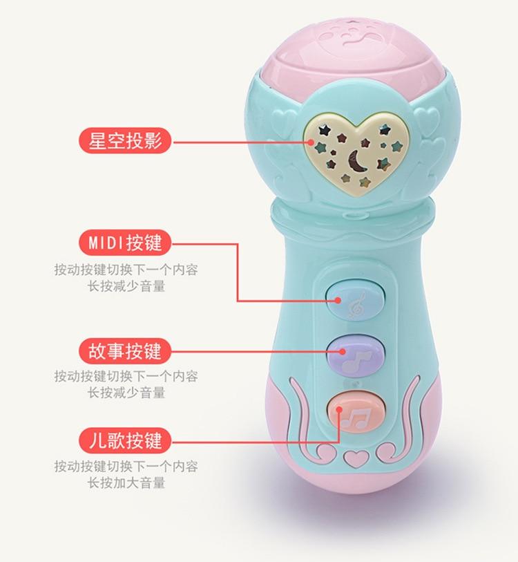 Rattle Baby Children Infant Music Drum Toy Seven Months 10-30 Yuan Drum 0-1-Year-Old Unisex 3-12 PCs