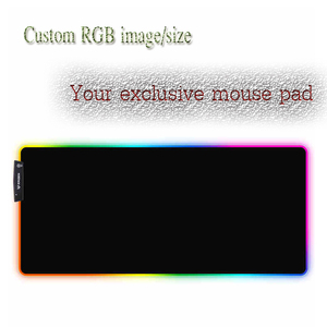 Image 4 - Yuzuoan  XXL Anime Mouse Pad Naruto USB LED Color Lighting Locking Edge Thickened RGB Mouse Pad Speed Control Gamer Keyboard Mat