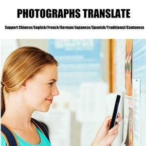 Image 5 - Stimme übersetzer Foto übersetzung 82 Sprachen AI Smart Dialog Lernen ausländische sprachen schnell Reise übersetzer SCHWARZ
