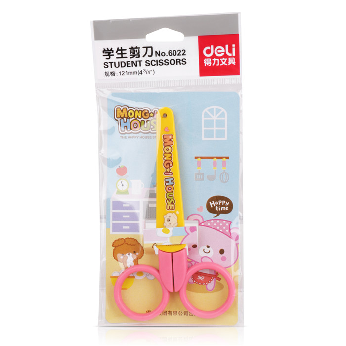 1 Pcs Cute Kawaii Small Mini Japanese Korean Student Scissor Home School Craft Scrapbooking Supplies Stationery