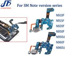 10pcs charging Dock Connector USB Charger port Flex Kabel Voor Note 8 9 N910 N915 N920 N950U N950F N960F U