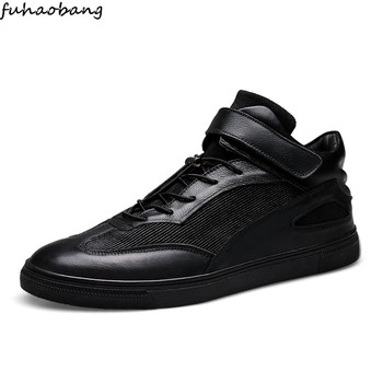 Casual Shoes Men Leather Comfortable Autumn Footwear High Quality genuine leather Resistant Classic Outdoor Sneakers big size 48