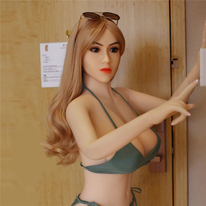 Image 2 - Sex doll 160cm #47 Top Quality Beautiful sexy woman sex robot full TPE with metal skeleton love doll For mens sex toys for man