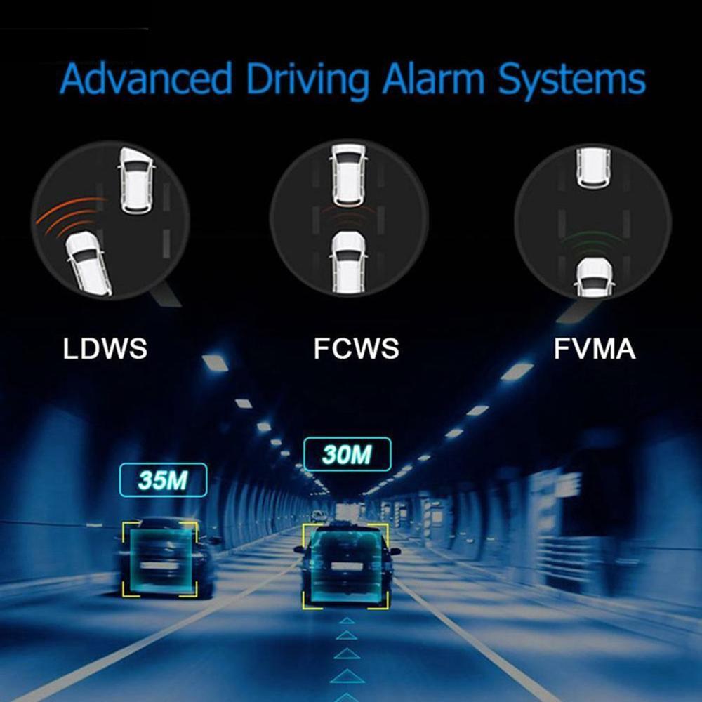 X28 FHD 1080P 150Dash Cam Автомобильный видеорегистратор камера рекордер WiFi ADAS g-сенсор Видео Авто рекордер Dash камера