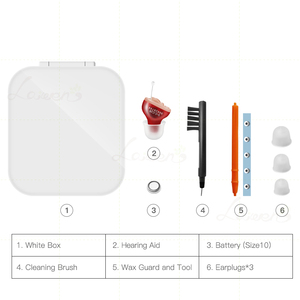 Image 5 - T23 CIC Digital 4 Channels 8 Bands Hearing Aid China cheap mini Invisible hearing Aids ear sound amplifier for eldly