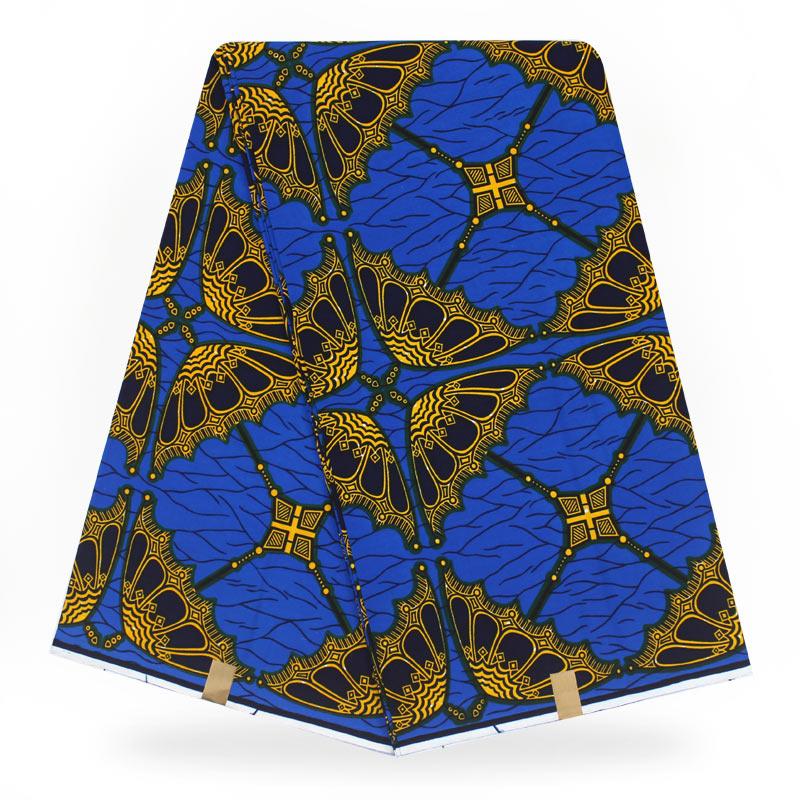 African Wax Prints Fabric Nigeria Ankara Wax Fabric 100% Polyester African Dress Wax Fabric