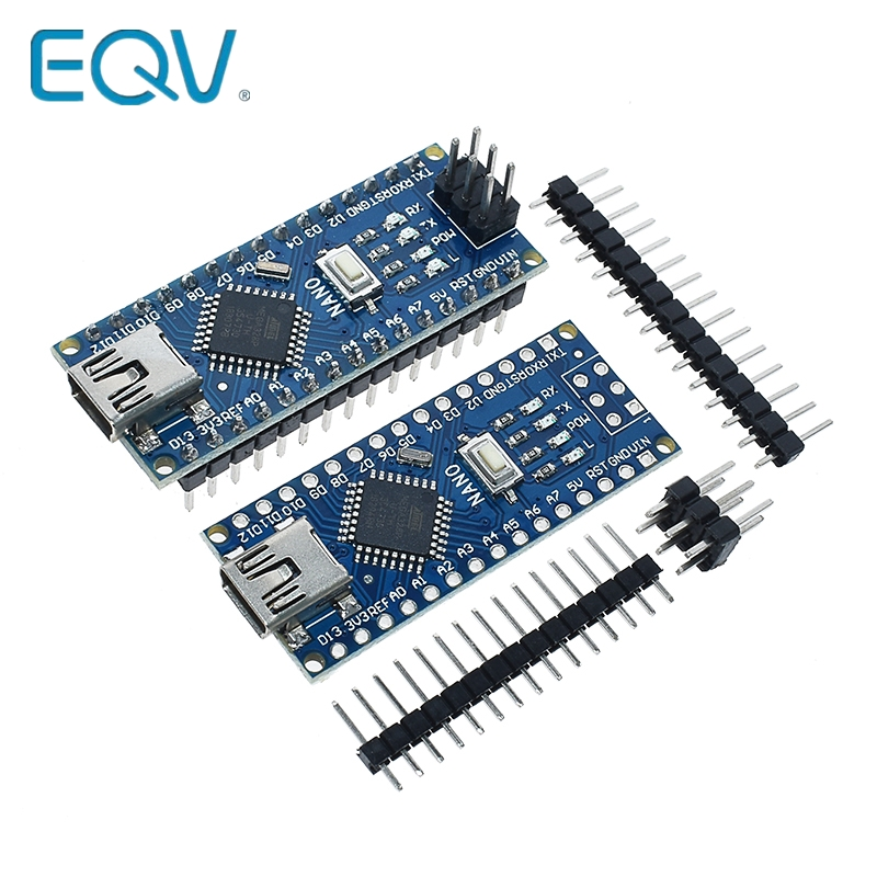 Free Shipping For Arduino Nano V3.0 Controller ATMEGA328P ATMEGA328 Original CH340 +USB Cable