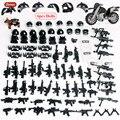 Oenux новая мини-фигурка солдат городской полиции, военный маленький строительный блок, спецназ, полиция с оружием, модель MOC, кирпич, игрушка д...