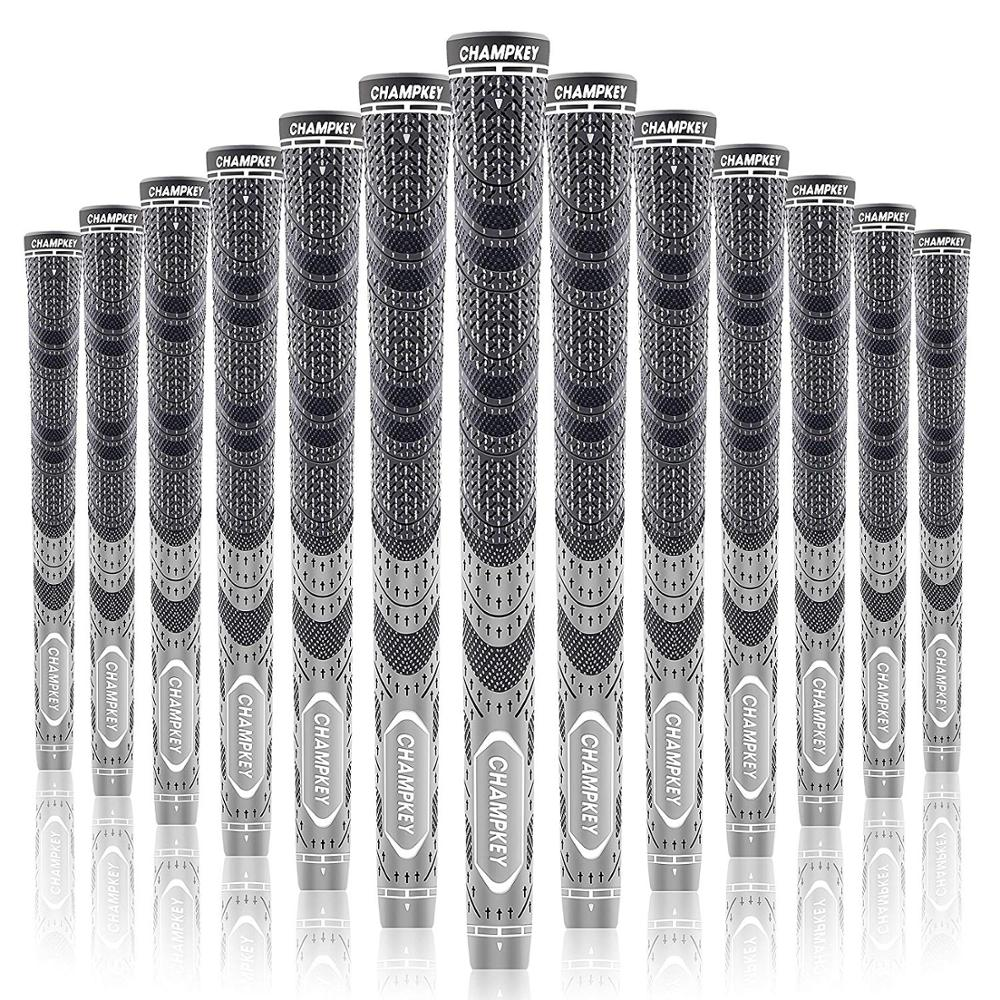 Champkey MCS Golf Grips 10x Multi Compound Standard Golf Club Grips 10 Colors Cord Rubber Grips Free Shipping
