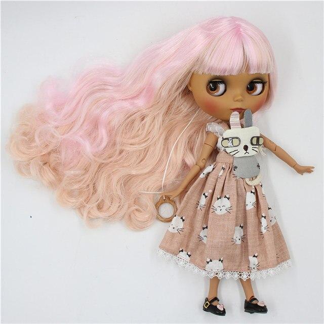Desha – Premium Custom Blythe Doll with Cute Face 1