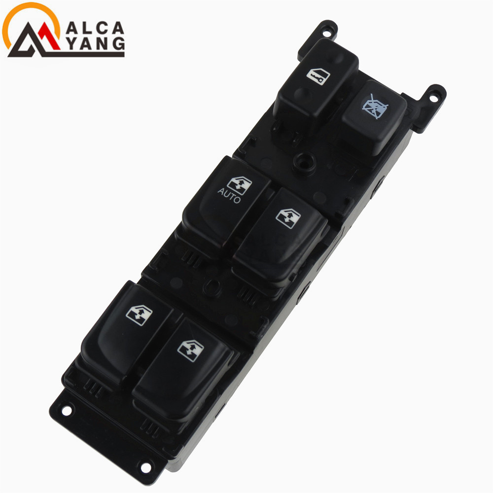 Car Auto ABS Front Left Driver Side Electric Power Window Master Switch Button For Hyundai Sonata 2005 2006 2007 93570-3K010