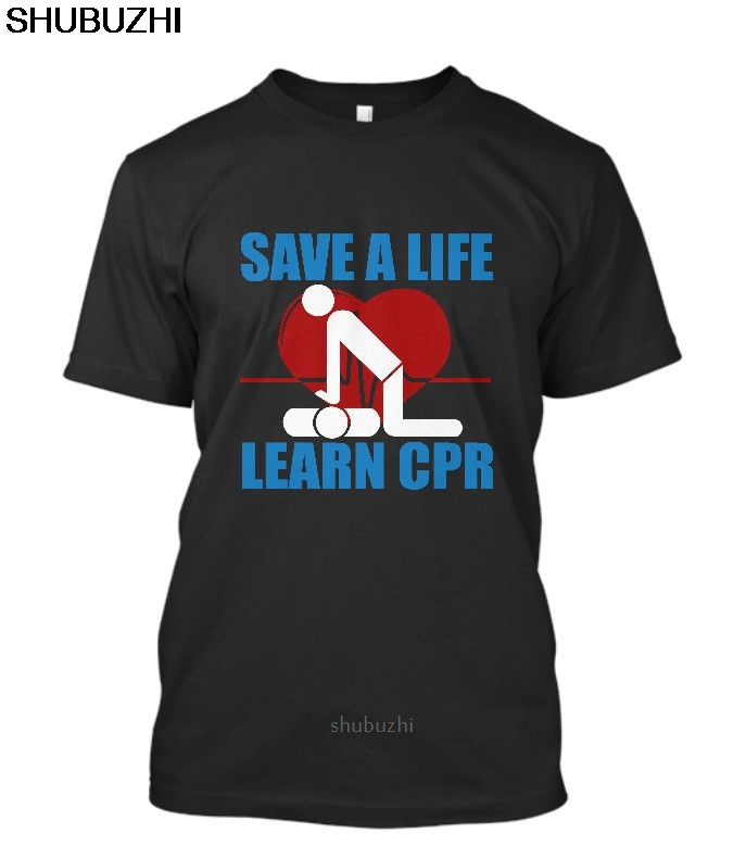 Новая мужская черная футболка с надписью SAVE A LIFE LEARN CPR EMT EMS, футболка с принтом в подарок, футболка в стиле хип-хоп, новые футболки ARRIVAL sbz8521