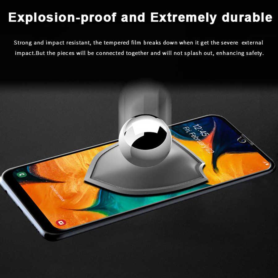 9D La pegamento de vidrio templado para samsung galaxy a10 a20 a20E a30 a40 a50 a70 protector de pantalla 10 20 30 40 50 70 película protectora