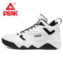 PEAK Men High Top Sneakers Casual Skateboarding Shoes Fashion Basketball Culture Sports Hip Hop Walking Street