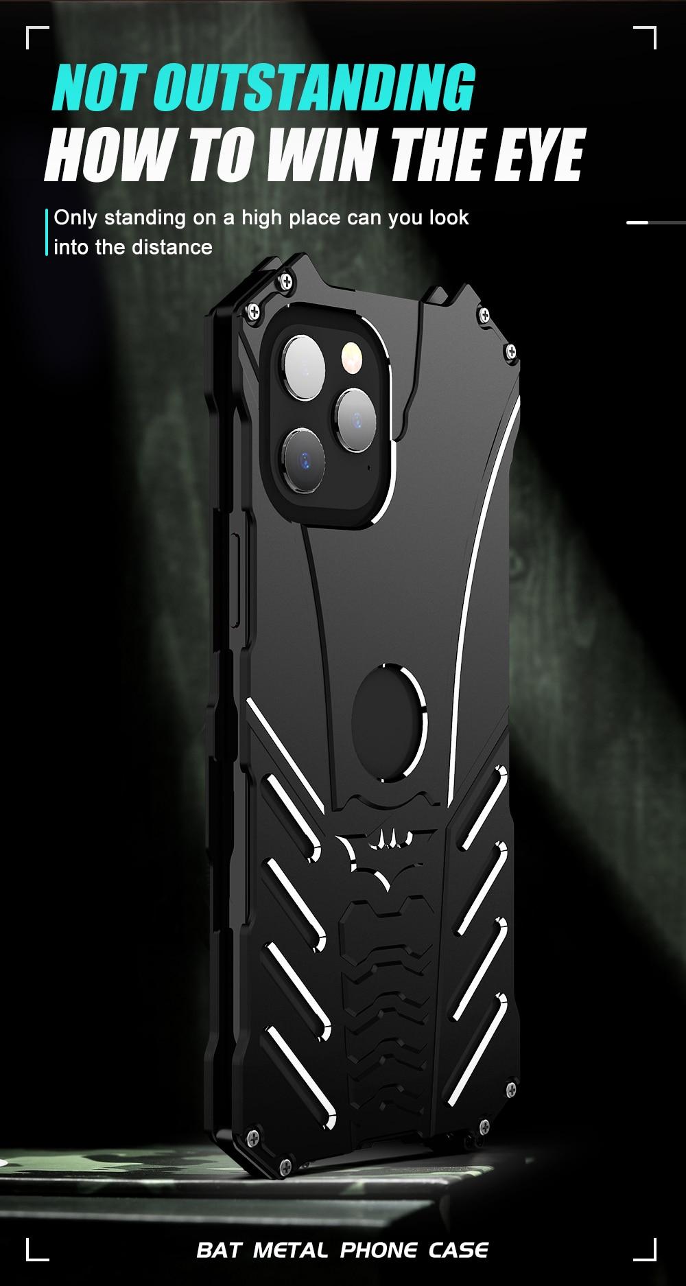 iPhone 12 Batman Aluminum phone case (9)