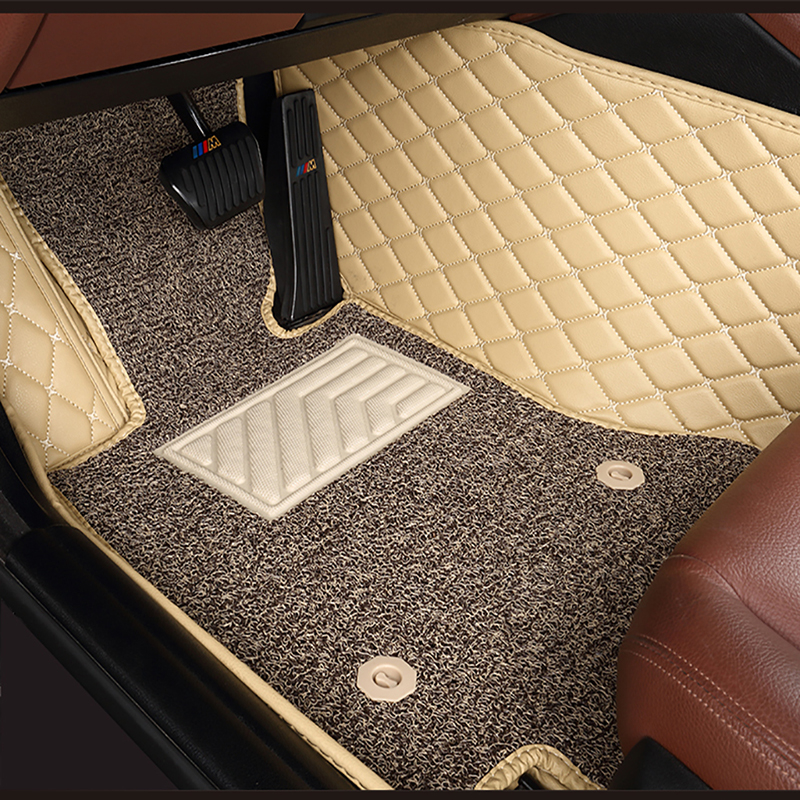 custom Double layer <font><b>car</b></font> floor <font><b>mats</b></font> for <font><b>lexus</b></font> gs nx lx470 IS350 LS RX CT GX LX RC RX300 LX570 <font><b>RX350</b></font> All Models <font><b>car</b></font> <font><b>mats</b></font> 5 seat image