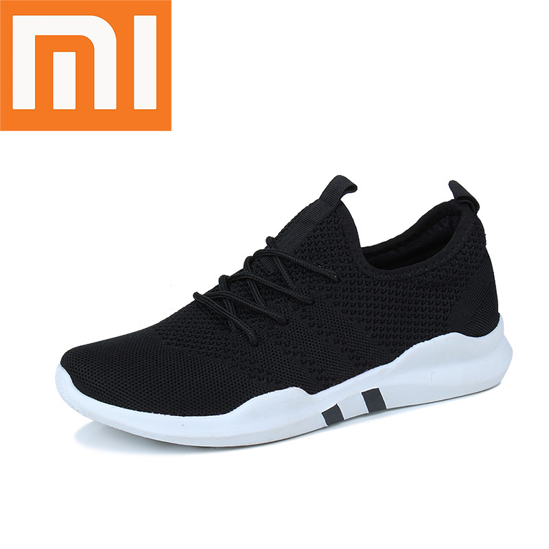 Xiaomi Hot Sale Running Shoes Light Casual Comfortable Man Sneakers Breathable Non-slip Wear-resisting Heighten Men Sport Shoes