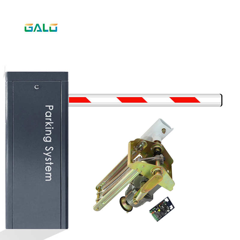 Aluminium Parking Barrier With Control Panel, Access Barrier, Fence, Anti-collision Door, RFID Security Gate Barrier