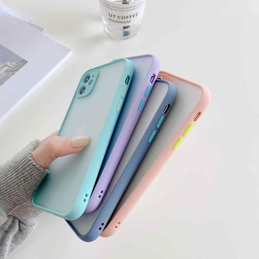 Ponsel Case untuk iPhone SE 2020 11 Pro Max Fashion Mewah Case Cover Coque Fundas For iPhone X XS XR 6 6 S 7 7Plus 8 8 PLUS