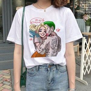 Женская футболка с принтом Harajuku, Повседневная футболка, большие размеры, лето 2019