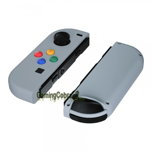 Image 3 - New Hope Gray Soft Touch Controller Housing With Colorful Buttons Replacement Shell with Tools for NS Switch Joy Con