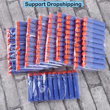 100 шт для пуль Nerf EVA Мягкая полая головка 7,2 см заправка пули дротики для Nerf аксессуары для игрушечного пистолета для Nerf бластеров