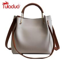 Vintage PU Leather Ladies HandBags Women Messenger Bags Totes Designer Crossbody
