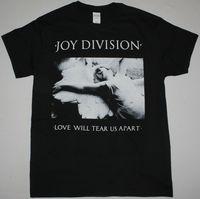 JOY DIVISION LOVE WILL TEAR US APART POST PUNK ALTERNATIVE NEW BLACK T SHIRT Summer O Neck Tee,100% Cotton Classic tee