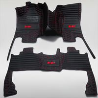 car floor mats Suitable for all models of logo Hummer H2 splice car floor mat motion auto parts styling car Accessories