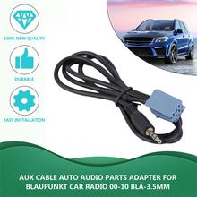 2019 New Aux Cable Auto Audio Adapter Parts Audio For Blaupunkt Car Radio 2000-2010 BLA-3.5MM.Cable Auto Audio Adapter
