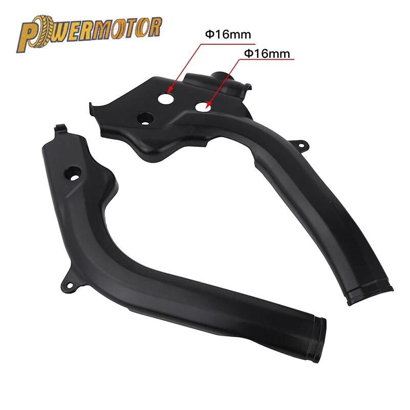 Protecteur de cadre noir en plastique pour Motocross, pour SX125 SX150 SX-F250 SXF250 SXF350 SX-F450 SXF450 16-17
