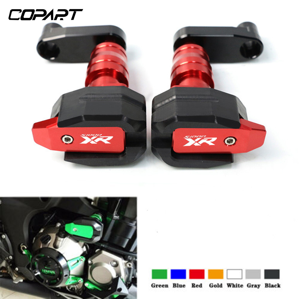 Motorcycle Falling Protection For BMW <font><b>S1000XR</b></font> S1000 XR S 1000XR 2010-2017 CNC Left&Right Frame Sliders Anti Crash <font><b>Pads</b></font> Protector image