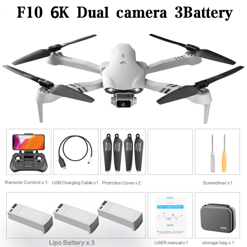 Mini Drone GPS 2.4/5G 6K HD Dual Camera Wifi FPV Foldable RC Quadcopter With Camera Drone GPS Drone 6k Profesional RC Toys Gift