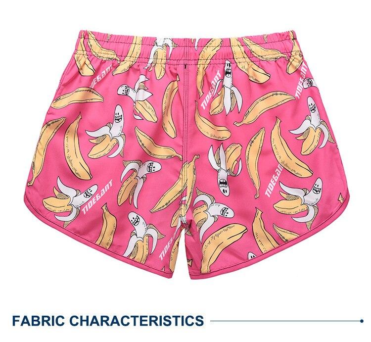 marca das mulheres de banana impressão Maiôs