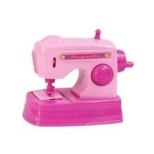 Детская электрическая швейная машинка игрушка с голосом играть в ролевые игры игрушки