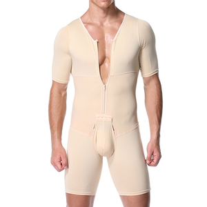 Image 1 - Shapers Sexy Mens Body Shaping Control Slim Corset Shapeware Bodysuit Body Shaper Body PantsWaist Cincher Belly Control Slimming