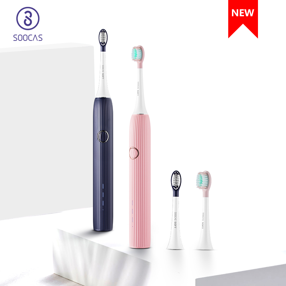 Xiaomi SOOCAS V1 Sonic Electric Toothbrush Waterproof rechargeable Ultrasonic USB cable Home Travel Dental Care Tool For Adults