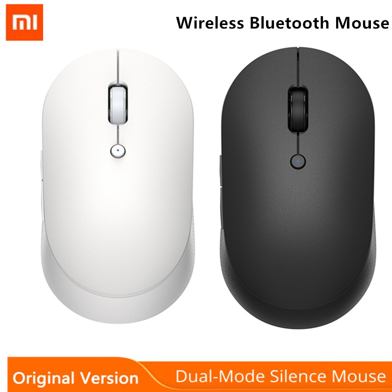 Xiaomi Wireless Mouse 2/Dual Mode Mouse Bluetooth USB Connection 1000DPI 2.4GHz Optical Mute Laptop Notebook Office Gaming Mouse