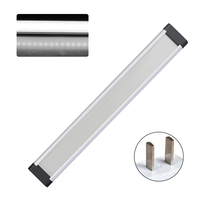 3pcs Showcase Lamp Cupboard Kitchen Ultrathin Under Cabinet Super Bright Light Strip Kit Remote Control Counter LED Dimmable Bar