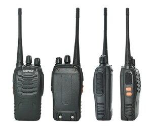 Image 4 - 4 pcs/set New Original Baofeng BF888S Walkie Talkie BF 888s 5W 16CH UHF 400 470MHz BF 888S walkie talkie two way Radio