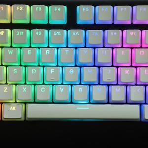 Image 5 - YMDK PBT Double Shot Shine Through ANSI ISO Pudding Keyset For MX Mechanical Keyboard Corsair Razer Ducky SF KBD75 68 Keychron