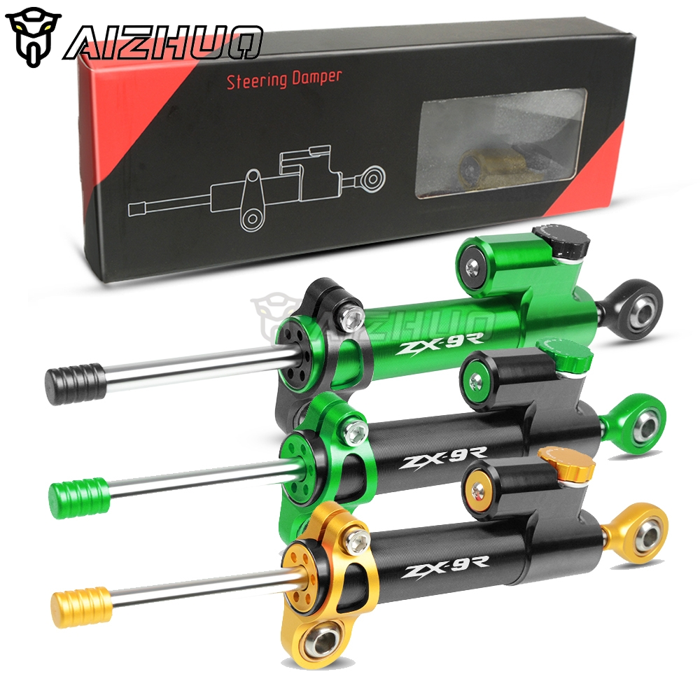 For KAWASAKI ZX9R ZX 9R ZX9 R ZX-9R 1998 1999-2003 2002 2001 2000 Universal Motorcycle Damper Steering Stabilize Safety Control