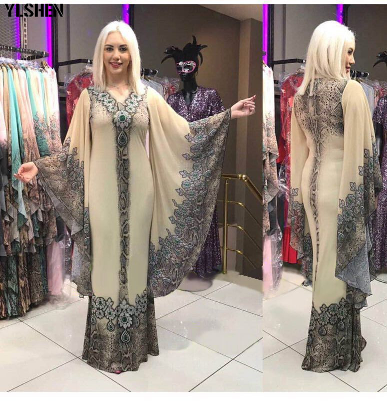New African Dresses for Women Dashiki Diamond African Clothes Bazin Riche Sexy Slim Ruffle Sleeve Robe Evening Long Africa Dress 03
