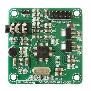 Carte de développement de Module MP3 VS1053 avec fonction d'enregistrement embarquée Interface SPI