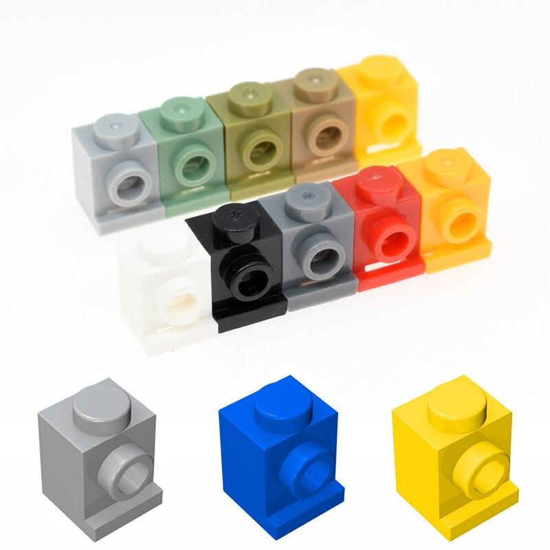 20pcs/50pcs Building Blocks Parts DIY Aeesmble Toys For MOC 1x1 Building Bricks Parts  Educational Creative Gift Toys