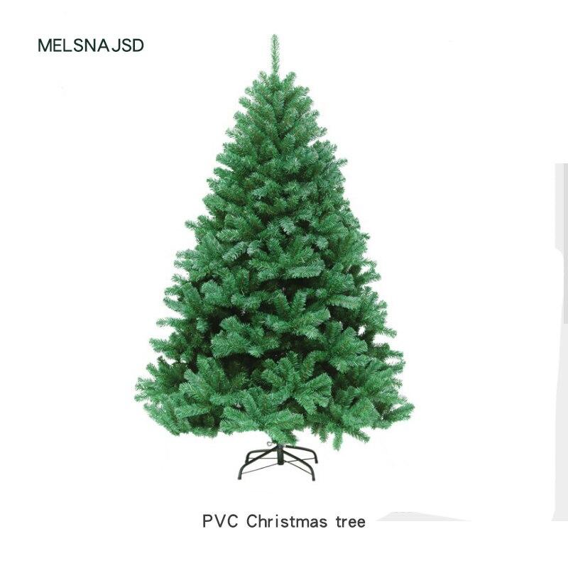 210 см новогодняя елка ПВХ вечерние домашние рождественские украшения для отеля Рождественская елка