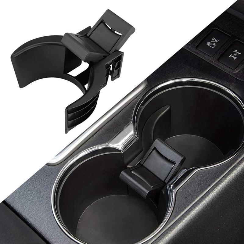 Center Console Cup Holder Insert Divider Drink Holder Insert Steady for 2014-2019 Toyota Highlander Accessories